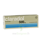 CLARADOL 500 mg, comprimé sécable à Pessac