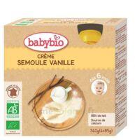 Babybio Gourde Crème Semoule Vanille à Pessac