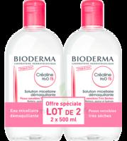 CREALINE TS H2O Solution micellaire sans parfum nettoyante apaisante 2Fl/500ml à Pessac