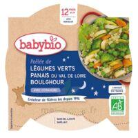 BABYBIO Assiette Bonne Nuit Légumes verts Panais Boulghour à Pessac