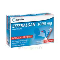Efferalgan 1g Cappuccino granules 8 sachets à Pessac