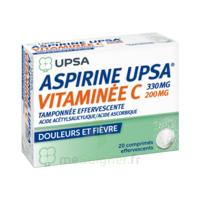 ASPIRINE UPSA VITAMINEE C TAMPONNEE EFFERVESCENTE, comprimé effervescent à Pessac