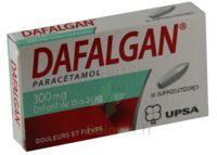 DAFALGAN 300 mg Suppositoires Plq/10 à Pessac
