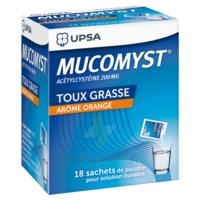 MUCOMYST 200 mg Poudre pour solution buvable en sachet B/18 à Pessac