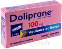 DOLIPRANE 100 mg Suppositoires sécables 2Plq/5 (10) à Pessac
