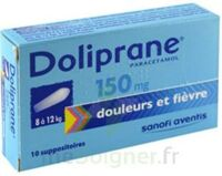 DOLIPRANE 150 mg Suppositoires 2Plq/5 (10) à Pessac