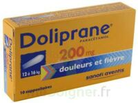 DOLIPRANE 200 mg Suppositoires 2Plq/5 (10) à Pessac