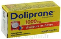 DOLIPRANE 1000 mg Comprimés effervescents sécables T/8 à Pessac