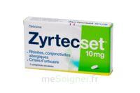 ZYRTECSET 10 mg, comprimé pelliculé sécable à Pessac