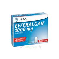 Efferalgan 1000 mg Comprimés pelliculés Plq/8 à Pessac