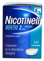 Nicotinell Menthe 2 Mg, Comprimé à Sucer Plaq/144 à Pessac
