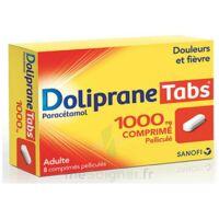 DOLIPRANETABS 1000 mg Comprimés pelliculés Plq/8 à Pessac