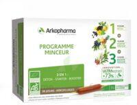 Arkofluide Bio Ultraextract Coffret Programme Minceur 3x10 Ampoules/10ml à Pessac