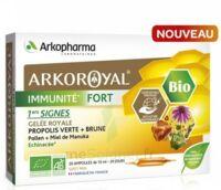 Arkoroyal Immunité Fort Solution Buvable 20 Ampoules/10ml à Pessac
