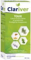 Clariver Solution buvable Toux sèche et productive adulte Fl/175ml à Pessac