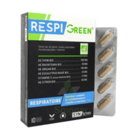 Synactifs Respigreen Bio Gélules B/10 à Pessac