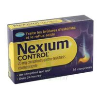NEXIUM CONTROL 20 mg Cpr gastro-rés Plq/14 à Pessac