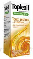 TOPLEXIL 0,33 mg/ml sans sucre solution buvable 150ml à Pessac