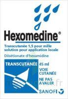 HEXOMEDINE TRANSCUTANEE 1,5 POUR MILLE, solution pour application locale à Pessac