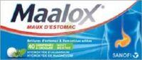 Maalox Hydroxyde D'aluminium/hydroxyde De Magnesium 400 Mg/400 Mg Cpr à Croquer Maux D'estomac Plq/40 à Pessac
