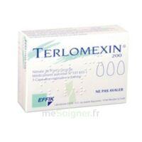 Terlomexin 200 Mg, Capsule Molle Vaginale à Pessac
