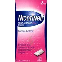 Nicotinell Fruit Exotique 2 Mg, Gomme à Mâcher Médicamenteuse Plq/96 à Pessac