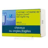 CYSTINE/VITAMINE B6 BIOGARAN CONSEIL 500 mg/50 mg Cpr pell Plq/120 à Pessac