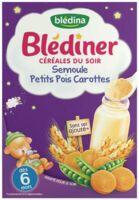 Blédiner Céréales du soir Semoule Petits pois Carottes 240g à Pessac