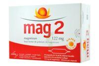 MAG 2 SANS SUCRE 122 mg, solution buvable en ampoule édulcoré à la saccharine sodique