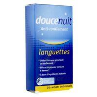 Doucenuit Antironflement Languettes, Sachet 28 à Pessac