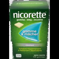Nicorette 2 Mg Gom à Mâcher Médic Sans Sucre Menthe Fraîche Plq/105gom à Pessac