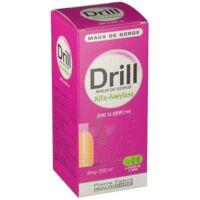 DRILL MAUX DE GORGE ALFA AMYLASE 200 U.CEIP/ml, sirop à Pessac