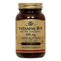 Solgar Vitamine B9 (Acide Folique) 400 µg Tablets à Pessac