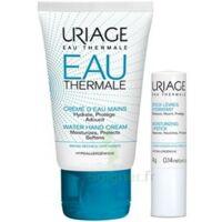Uriage Eau Thermale Crème D'eau Mains T/30ml+stick Lèvres à Pessac