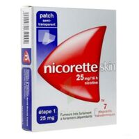 Nicoretteskin 25 mg/16 h Dispositif transdermique B/28 à Pessac