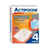 Actipoche Patch chauffant douleurs musculaires B/4 à Pessac