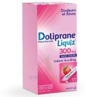 Dolipraneliquiz 300 mg Suspension buvable en sachet sans sucre édulcorée au maltitol liquide et au sorbitol B/12 à Pessac