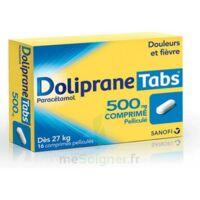 DOLIPRANETABS 500 mg Comprimés pelliculés Plq/16 à Pessac