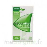 NICORETTE 4 mg Gom à mâcher médic sans sucre menthe fraîche Plq/30gom à Pessac