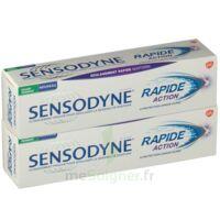 Sensodyne Rapide Pâte dentifrice dents sensibles 2*75ml à Pessac