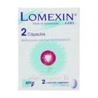 LOMEXIN 600 mg Caps molle vaginale Plq/2 à Pessac