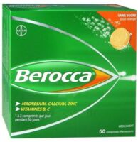 Berocca Comprimés effervescents sans sucre T/60 à Pessac
