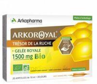 Arkoroyal Gelée Royale Bio 1500 Mg Solution Buvable 20 Ampoules/10ml à Pessac