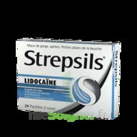 Strepsils lidocaïne Pastilles Plq/24 à Pessac