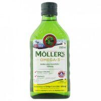 Mollers Huile De Foie De Morue Solution Buvable Citron 250ml à Pessac