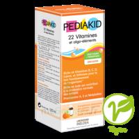 Pédiakid 22 Vitamines Et Oligo-eléments Sirop Abricot Orange 125ml à Pessac