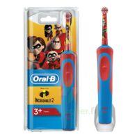 Oral B Incredibles 2 Brosse dents électrique enfant 3ans et+ à Pessac