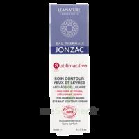 Jonzac Eau Thermale Sublimactive Crème Soin Contour Yeux Lèvres Jeunesse Immédiate 15ml à Pessac