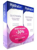 Hydralin Quotidien Gel lavant usage intime 2*200ml à Pessac