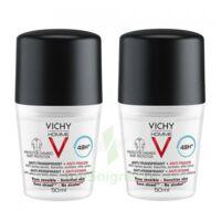 Vichy Homme Déodorant anti-transpirant anti trace 48H 2*Billes/50ml à Pessac